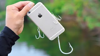 World's BEST IPHONE FISHING LURE! (Actually Works!)