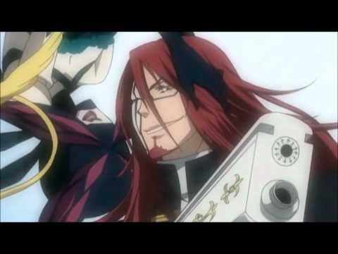 D.gray-man - General Cross Vs Awakened Tyki Mikk