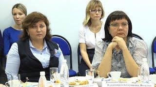 Встреча Елены Авдеевой с учителями
