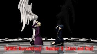 【MMD】Kuroshitsuji - Number 9 【Alois and Ciel】