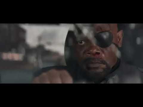 Нападение на Ника Фьюри. Часть-2.  Первый Мститель: Другая война. 2014