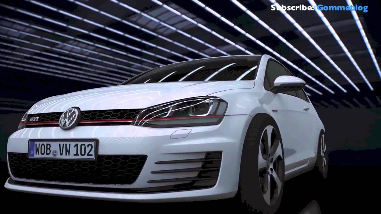 volkswagen golf design vision gti - 500 cv  h