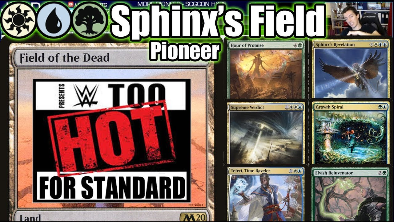 Too Hot For Standard! Bant Field Of The Dead Makes Its Move To Pioneer!