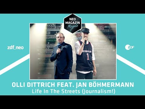 "Olli Dittrich feat. Jan Böhmermann - ""Life In The Streets (Journalism!)"" 
