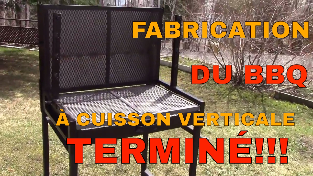 comment fabriquer un bbq unique et polyvalent a cuisson verticale derni re partie youtube. Black Bedroom Furniture Sets. Home Design Ideas