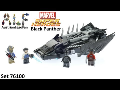 Lego Super Heroes 76100 Royal Talon Fighter Attack - Lego Speed Build Review