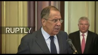 LIVE  Lavrov holds press conference with Vatican Secretary of State in Moscow