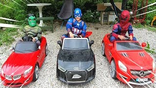LoveStar pretend play Heroes and save  mother