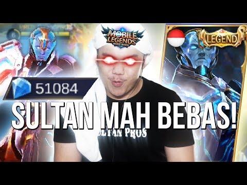 SULTAN BELI SKIN GORD LEGENDS TANPA RAGU! MACEM RECEH!?!? - Mobile Legends Indonesia #76