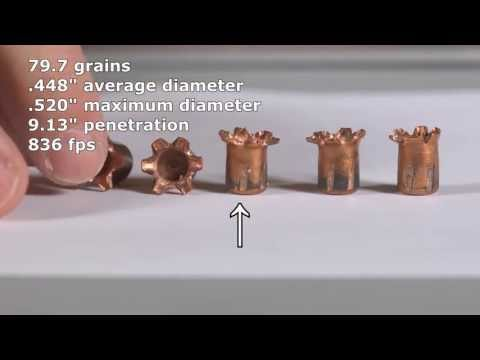 Ammo Quest .380 ACP: Copper Only Projectiles C.O.P. test in Taurus TCP 738 ClearBallistics gelatin