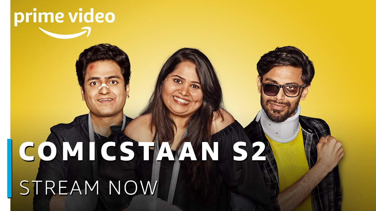 100% Comedy - Comicstaan Season 2 | Stream Now | New Episode Every Friday |  New Amazon Original 2019