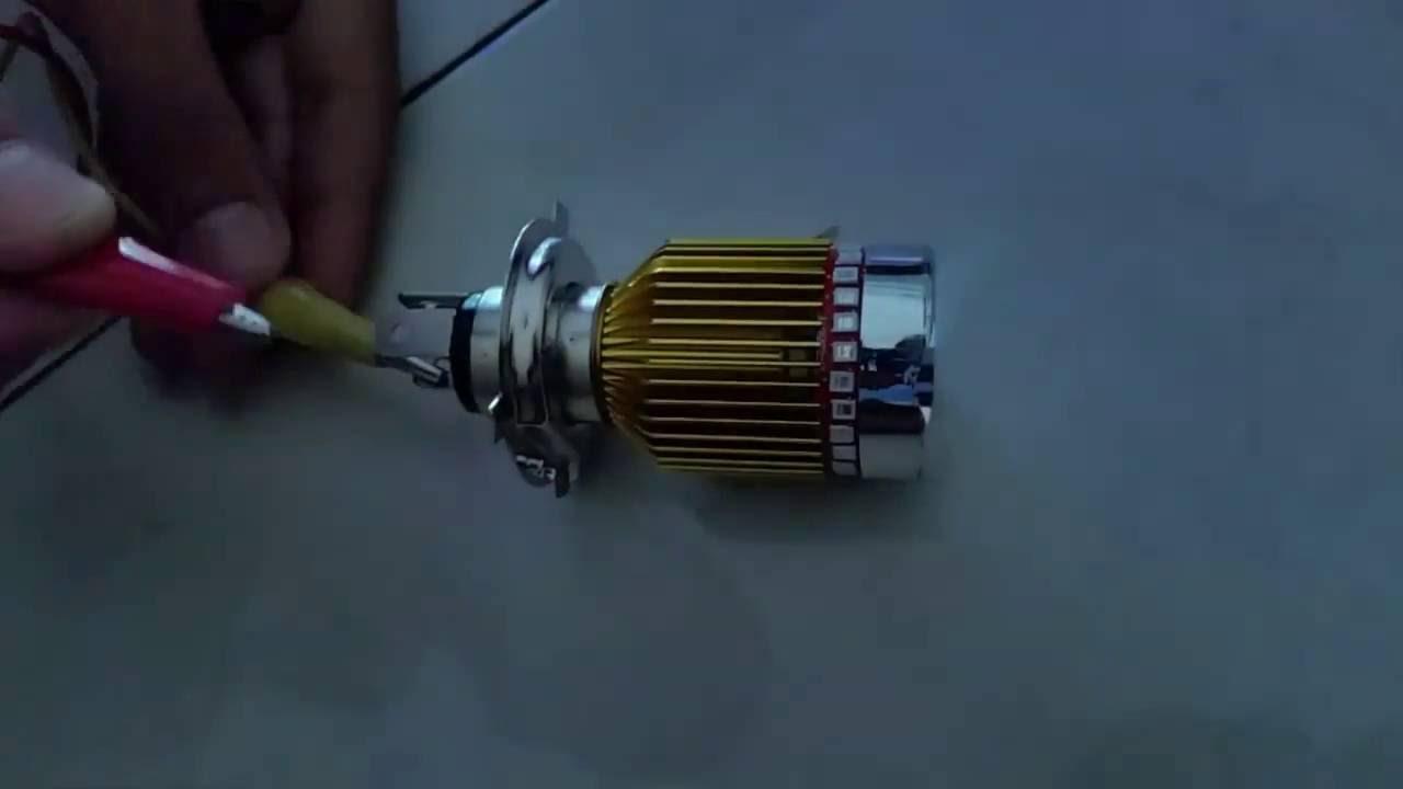 Lampu Led H4 Corong Youtube