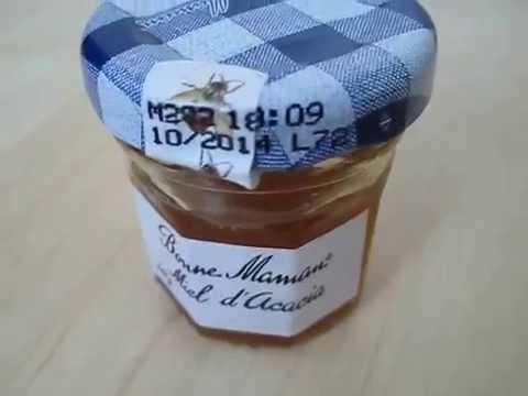 miel d'acacia bonne maman