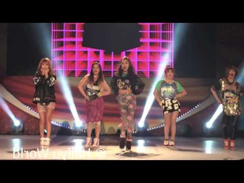 4MINUTE ♣ Hot Issue Mirrored Fancam