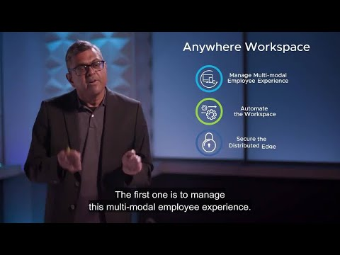 Introducing VMware Anywhere Workspace