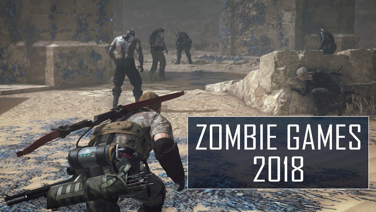 best zombie games ps4 2018
