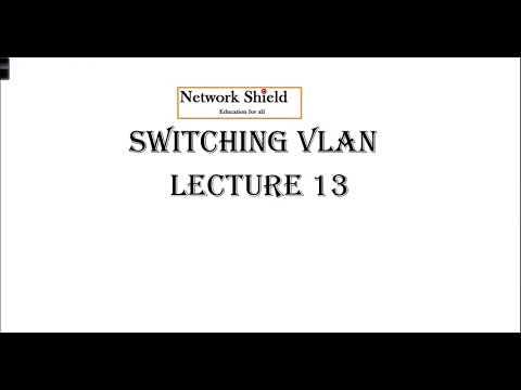 Lecture 13: 200-125 CCNA   Switch VLAN   Trunk 802.1Q  Native VLAN   Free CCNA Training in Hindi