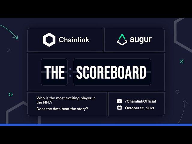 Football Matchups October 22nd, 2021   Augur & Chainlink Present The Scoreboard