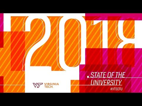 Live: 2018 Virginia Tech State of the University address