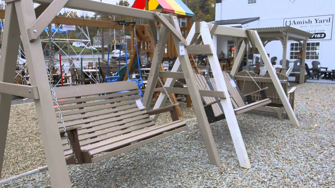 Poly Furniture - Full line of chairs, swings, dining tables