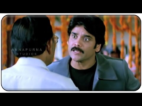 Naganjuna Argument For Love Couple || Manmadhudu Movie || Nagarjuna, Sonali Bendre, Anshu