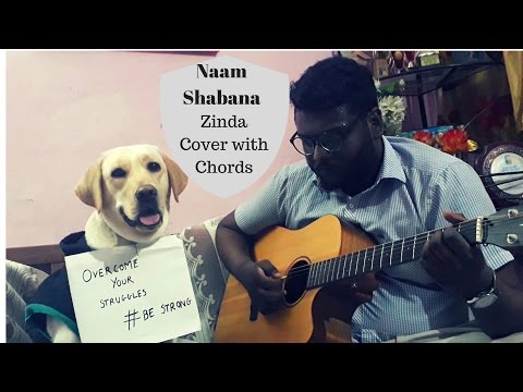 Naam Shabana - Zinda Cover with Guitar Chords