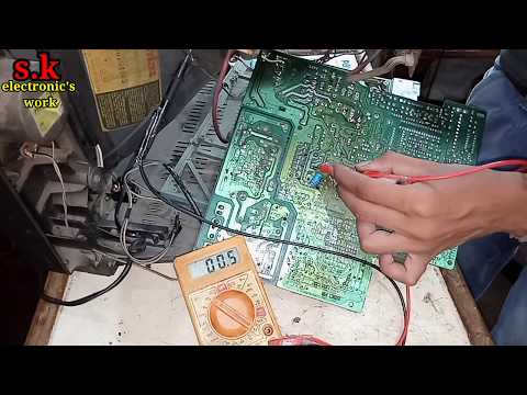 Standby Problem Solution CRT Tv, Oscar Tv Repair, S.k Electronic's Work