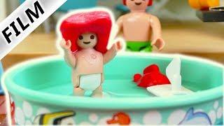 Playmobil Film Deutsch - EMMAS EIGENER SWIMMING-POOL! JULIAN EIN GUTER BRUDER? Familie Vogel