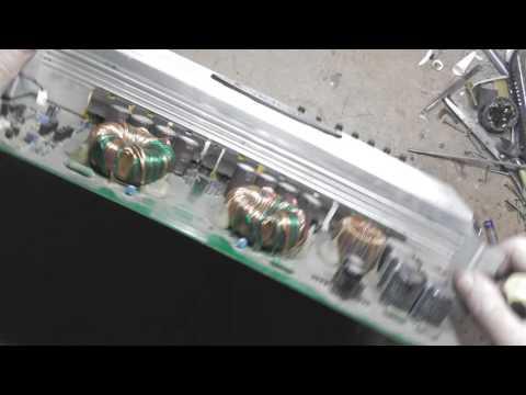 Ремонт автомобильного усилителя мощности CADENCE ZRS-9