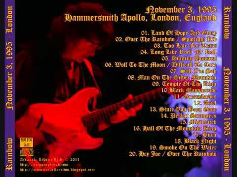 1995-11-03 -  Hammersmith Apollo, London