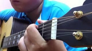 Yên bình guitar solo - Cover Văn Cò