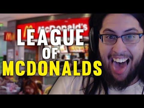 Imaqtpie - LEAGUE OF MCDONALD'S?