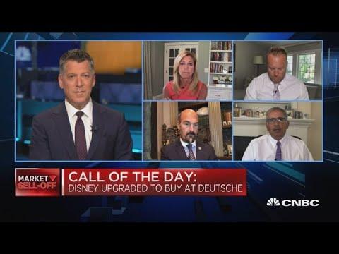 Disney upgraded to buy at Deutsche Bank