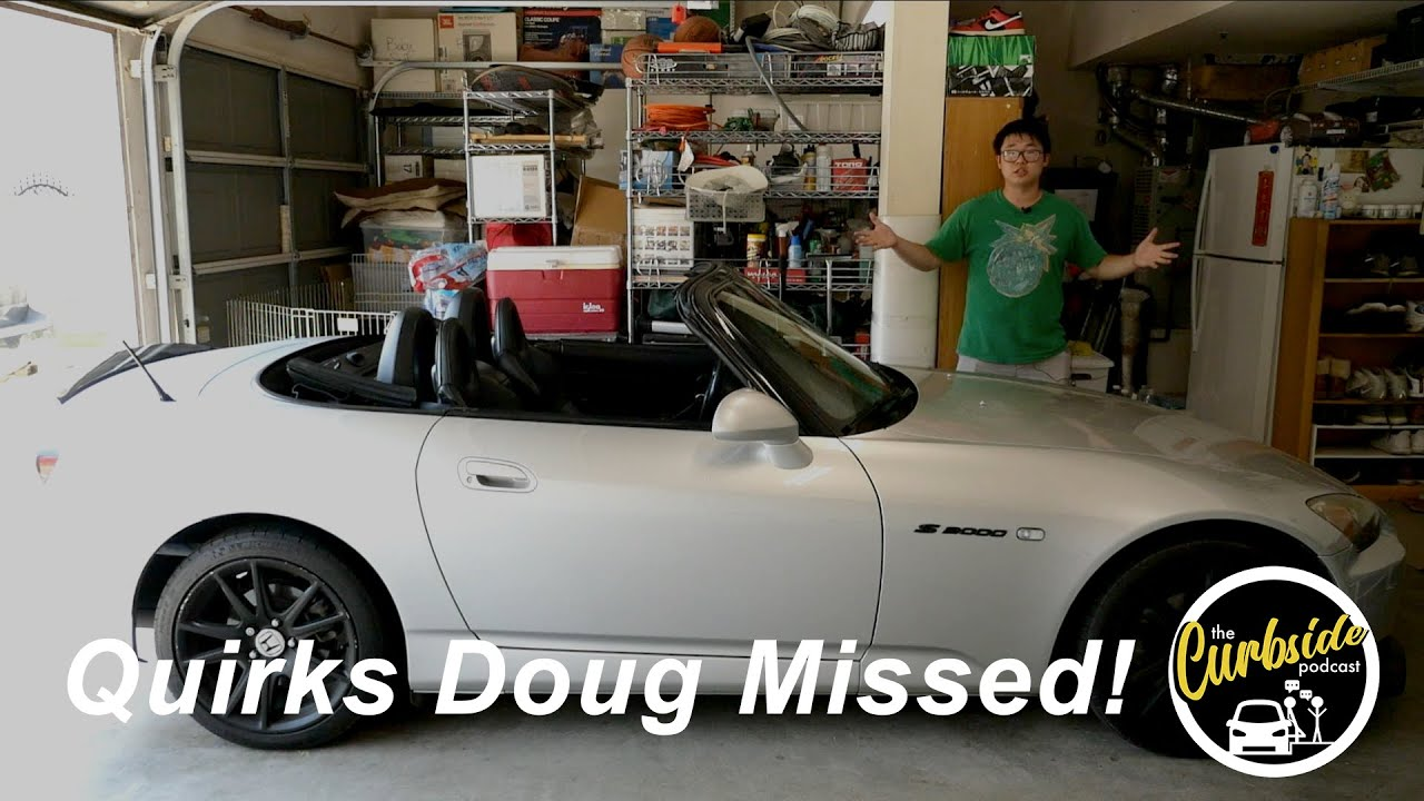 Here's the Honda S2000 Quirks and Features that Doug Demuro Missed!