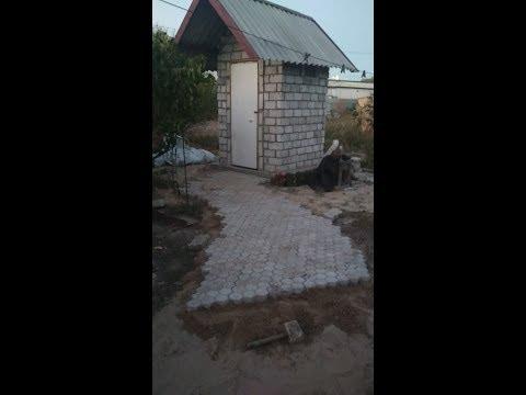 Бюджетный уличный туалет своими руками. Практически без финансовых вложений! 21.02.19