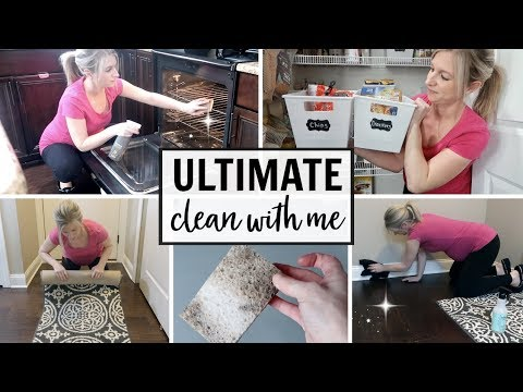 EXTREME CLEAN & ORGANIZE WITH ME 2019 | MONTHLY CLEANING ROUTINE | DEEP CLEANING MY HOUSE