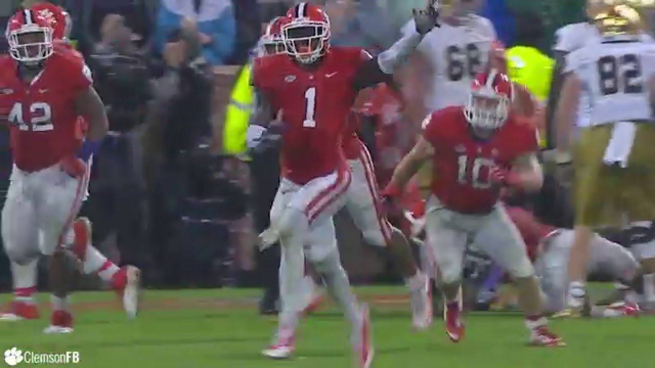 Clemson football most pivotal plays of 2015 youtube