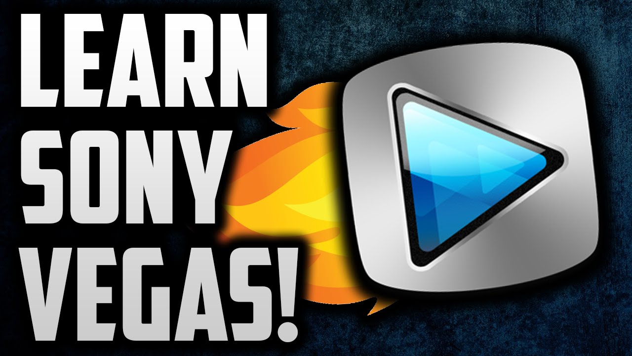 How To Use Sony Vegas Pro 13 For Beginners! Sony Vegas Tutorial!  Youtube