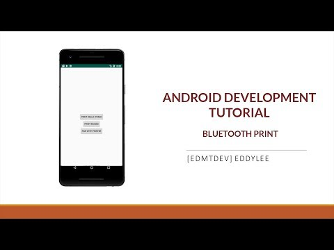 Android Development Tutorial - Bluetooth Print thumbnail