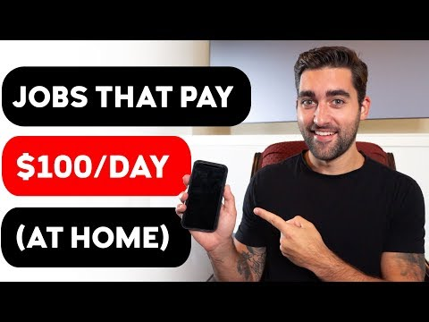 7 REAL Work-From-Home Jobs That Pay $100 Per Day Or More