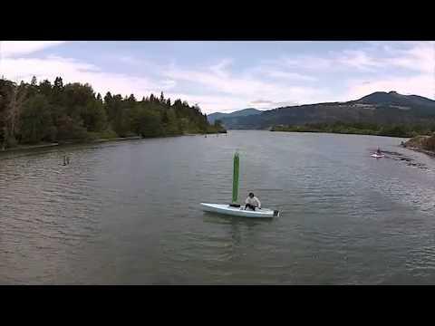 Wind Turbine Boat