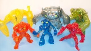 2011 BEN 10 ULTIMATE ALIEN FORCE SET OF 6 McDONALD