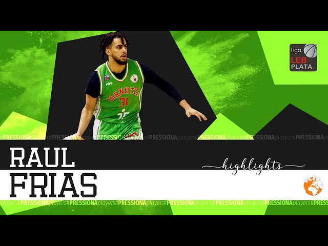 Raúl Frías Highlights 2019-20 LEB Plata