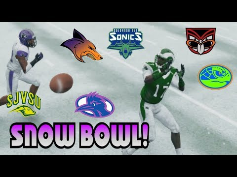 NCAA Football 14 Mountain West All Teambuilder Dynasty Week 13: Conference Avalanche