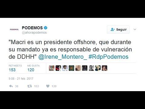 Macri recibe criticas en su visita a España