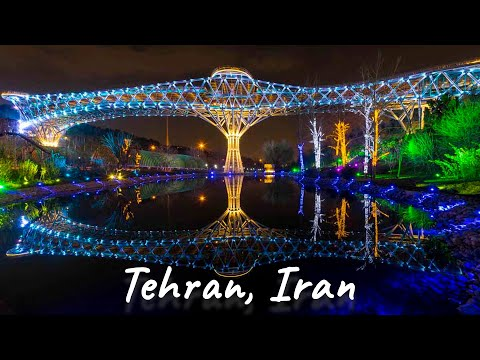 A Glimpse of Tehran, Iran's Capital