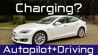 Tesla Model S 2017 // Charging explained, Autopilot & Driving