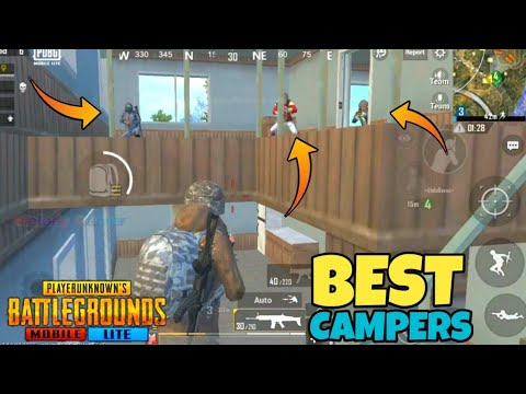 PUBG MOBILE LITE BEST CAMPERS  || MELODY GAMER