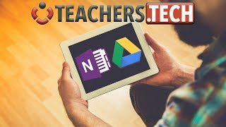 OneNote and Google Drive on the iPad