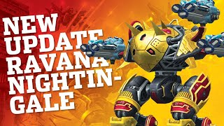 🔴 War Robots - NEW UPDATE - Ravana And Nightingale Robot Review | WR Live Stream Gameplay